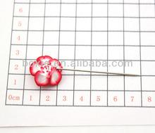 fashion flower hijab pin bulk hair pin