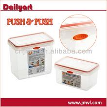 Easy Open and Lock Plastic Food Storage