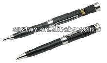 Fashion OEM pen usb flash drive,free laser logo printing pen shape usb flash