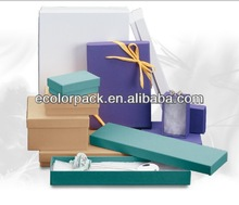 Paper Cotton Filled Jewelry Boxes