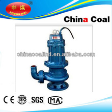 China Coal QW stainless steel submersible centrifugal pump for sea water