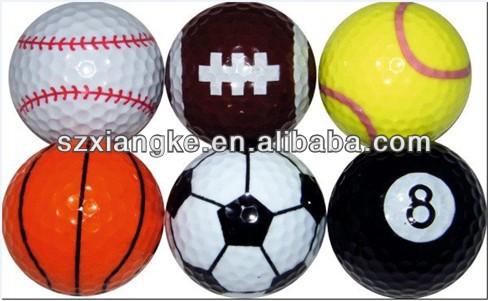 Novelty Golf sports ball