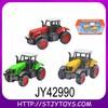 Free wheel diecast farm tractor toy model
