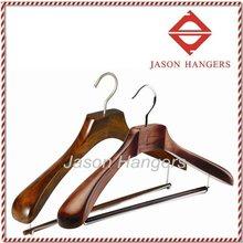 DL0890 luxury Antique color wood hanger suits
