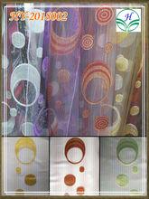 curtain jacquard organza fabric for window decor