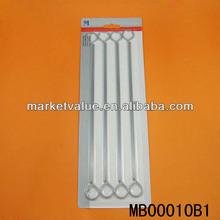8 zinc pcs asador pinchos de metal