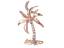 cheap family palm tree costume brooch in wholesale price