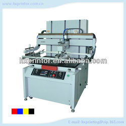 Pneumatic Flatbed single color Screen printer