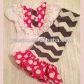 bambino personalizzato boutique di design chevron pantaloni ultima moda estate abbigliamento per bambini in vendita a basso prezzo di vestiti per bambini 2 pezzi outfit set