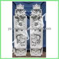 Talladas a mano griega columnas de mármol clmn- 055