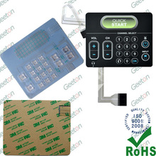 China Waterproof Soft Touch Membrane Switch Suppliers
