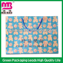 hot sale die cut hole brown kraft paper bag grocery bag for shopping