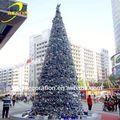 venda quente da árvore de natal decoração de penas brancas da árvore de natal