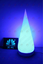 PVC party decoration inflatable with led cone lamp