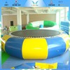 Inflatable rave sports water trampoline,inflatable trampoline for water