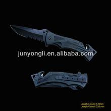 Survival Knife with Bottle Opener & Belt Cutter