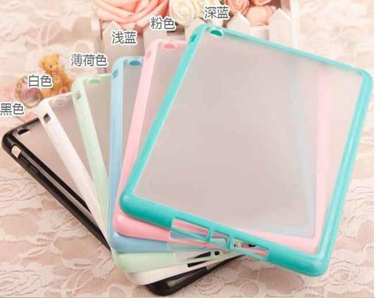 hard pc tpu frame shockproof case for ipad mini 2