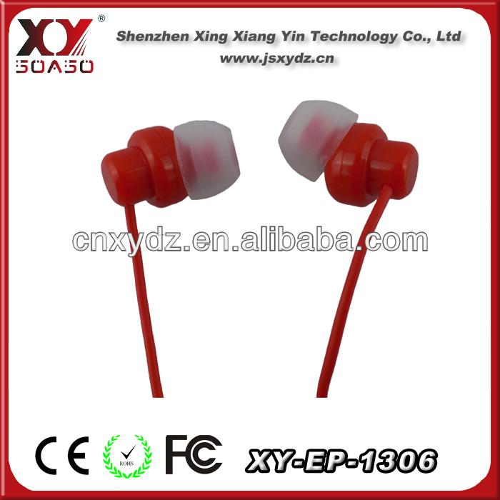 with earphone bag flat cable earphone custom earphones for iphone mobilephone mp3