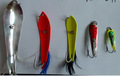 Pesca cuchara señuelo