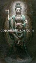Sculpture oil painting