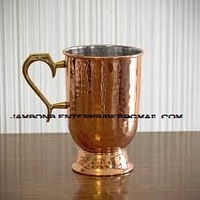 Copper Mule Mugs With Brass Handle Old Dutch Style Tankard wholesale