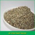 el aire seco de hojas de albahaca