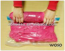 ningbo woso plastic hand roll-up vacuum storage bag