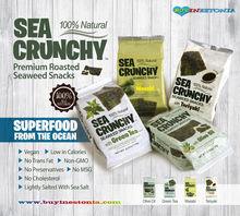 Seaweed Snack SEA CRUNCHY 100% Natural