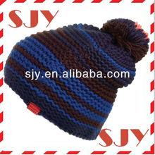 customized 100% cotton kufi crochet beanie skull cap knit hat