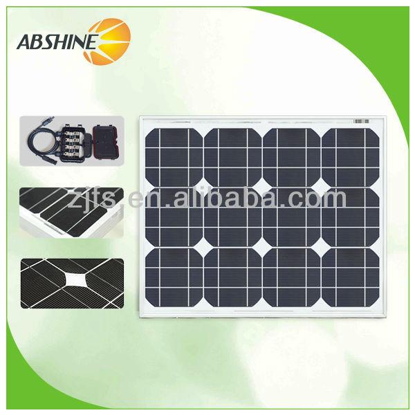 2014 hot selling 30W Best price per watt solar panels