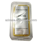 0.7mm fashion aluminum mobile phone case bumper for iphone 5 with nice packing