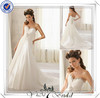 FQ0194 Cross Back Sleeveless Wedding Dress Bridal