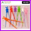 Lovely Rabbit Chopsticks Adults Chopsticks Silicone