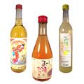 japonês licor e causa cocktail série produzida por marcas de licores