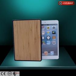 Fashionable Natural Wooden Bamboo Hard Case For Ipad Mini