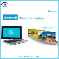 11.6 Inch Intel Ivy Bridge 1037U Rotating Touch Screen Laptop with 2G RAM/320G HDD(Optional)
