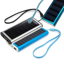 Mobile Portable Solar Power Bank Charging Station Dock External Battery 1350 mAh for iPad Mini 2 3 4 iPod Touch 5