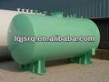 sobre el suelo y el tanque de acero para la industria química y la estación de gas