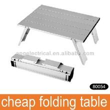 outdoor aluminum light weight compact design cheap folding table