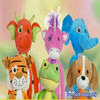 Porpular 6 types stretch children kins toy funny plush