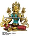 Salvador deusa Tara verde