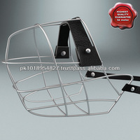 Pet Dog Muzzles Steel Amouth With Leather Strap available in stock