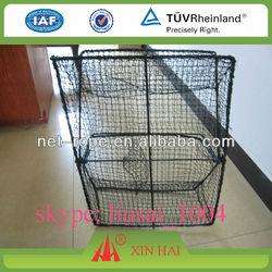 nylon fishing net crab trap square and ellipse type
