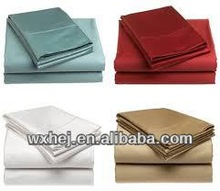 SOLID SATEEN COTTON HOTEL AND HOME BEDSHEET/BED LINEN