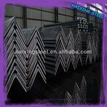 MS equal/unequal black & galvanized steel angle bar