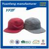 Custom wholesale cotton 5 panel printing snapback hats