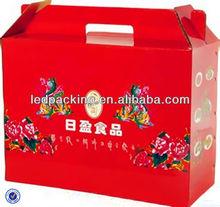 Red Classics Food Carton Box