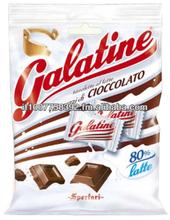 Galatine latte e cioccolato in busta