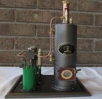 Brass Made Three Cylinders Steam Engine