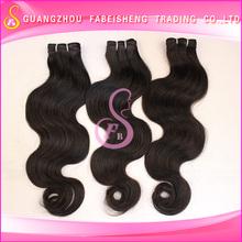 Graceful human hair brazilian hair extensions virgin indian hair industries
